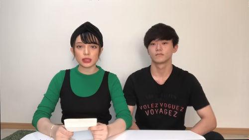左:渡辺リサ、右:中田壱清