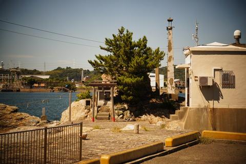 冷水の廃灯台