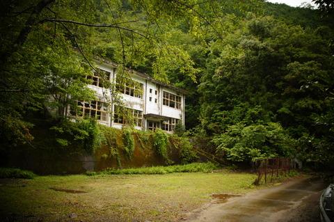 東ノ川小中学校003