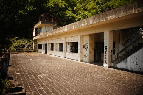 笠置観光ホテル(4階と、5階、そして屋上)