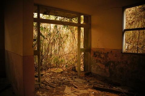唐櫃の廃墟