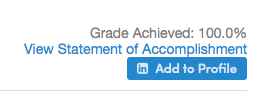 Statement Accomplishment