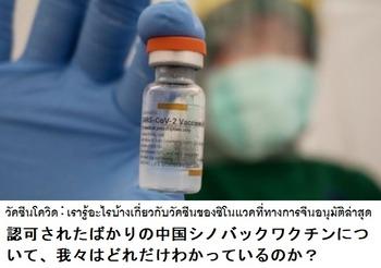 シノバックワクチン1