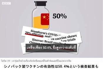 シノバックワクチン3