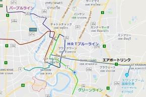 パープルラインマップ