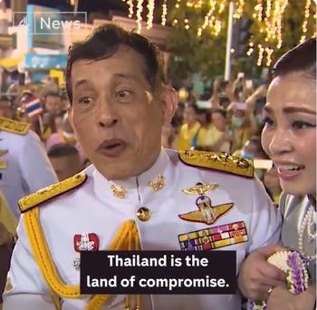 譲歩と妥協の国