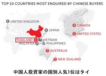 中国人の人気