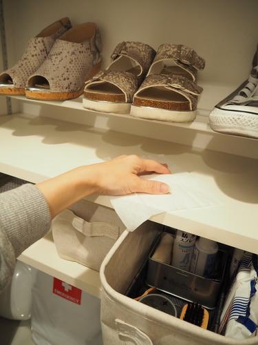 靴箱掃除4