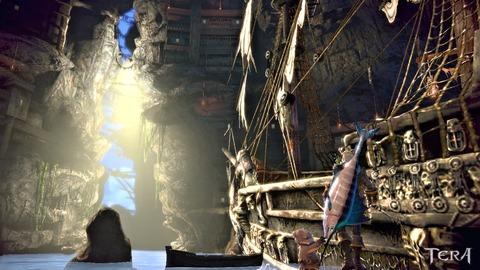 クラウド海賊のアジト