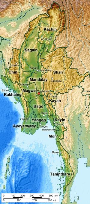 States of Myanmar