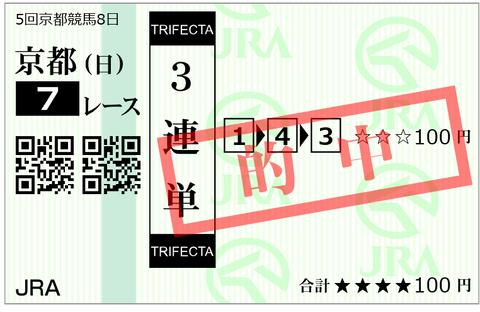 京都7R 1-4-3