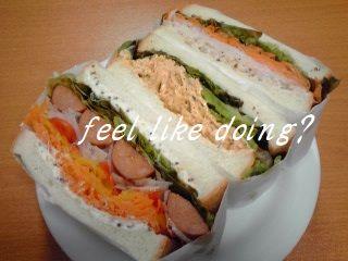 サンドイッチ3種