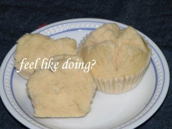 米粉蒸しパン卵なし