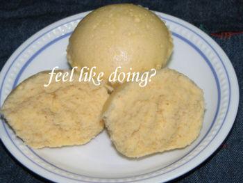 米粉蒸しパン卵入り