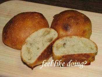 フィール・ハニー入り丸パンのはずが