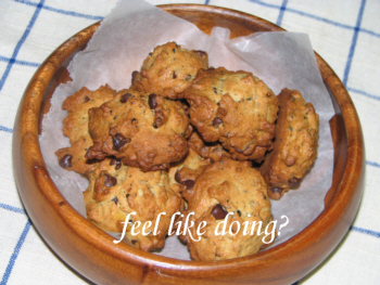 黒胡麻&チョコレートチップスクッキー