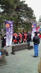 鶴ヶ城さくら祭り1
