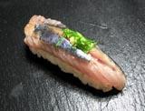 秋刀魚の握りです。