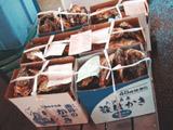 これもシーズンの牡蠣が箱売りであります。