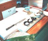 江戸前鮨を握る作業場です。