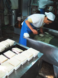 漁港近くの手作りの豆腐屋さんです。