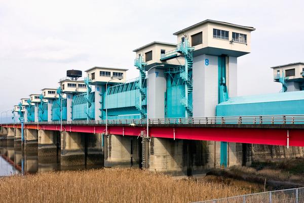 Rokkakugawa_Weir2