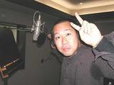 レコーディング中の谷口國博先生