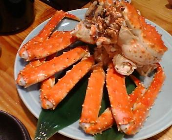 やなぎで蟹!