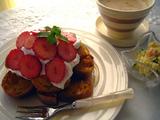 フレンチトースト+メイプルシロップ