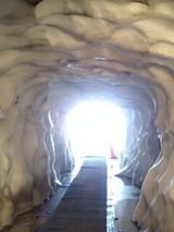 雪トンネル