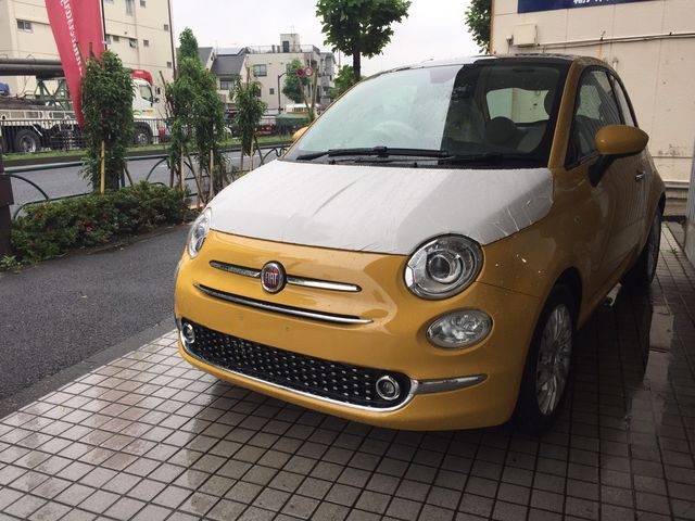 黄色い新型500ついに到着!!