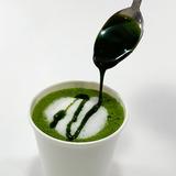 抹茶ラテの作り方6