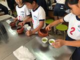 2019.11 美味しいお茶のいれ方授業 山下小学校2