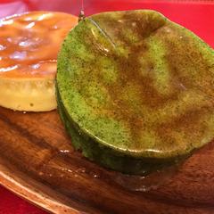 抹茶ホットケーキのレシピ