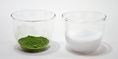 抹茶の角砂糖の作り方(材料)