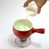 抹茶チョコフォンデュ・作り方3-1