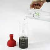 フィルターインボトルを使った美味しい冷茶の淹れ方3