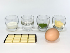 抹茶テリーヌの作り方(材料)