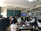 2019.11 美味しいお茶のいれ方授業 山下小学校1