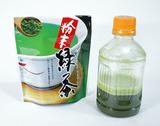 粉末緑茶で「緑茶うがい」