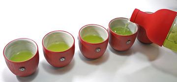 【フィルターインボトル使い方】お茶(HOT)編06