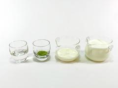 ダルゴナ抹茶の作り方(材料)