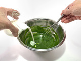 抹茶カスタードクリームの作り方02