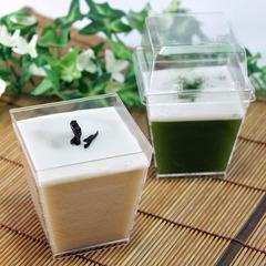 日本茶DEココナッツゼリー