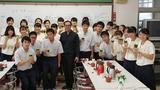 日本茶の楽しみ方・鹿児島南高校11