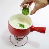 抹茶チョコフォンデュ・作り方3-3
