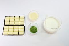 抹茶チョコフォンデュ・材料