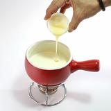 抹茶チョコフォンデュ・作り方3-2