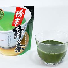 「粉末緑茶うがい」で口内スッキリ
