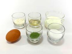 抹茶カタラーナの作り方(材料)